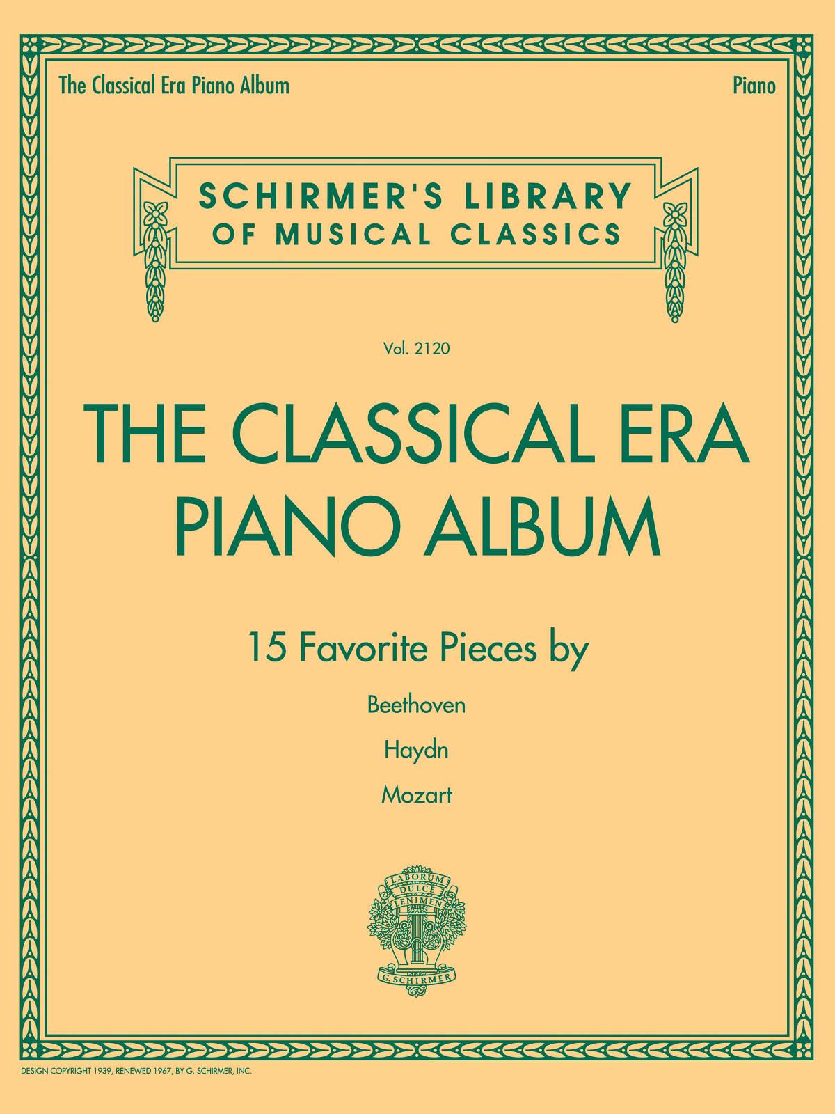 The Classical Era Piano Album: Piano: Instrumental Album