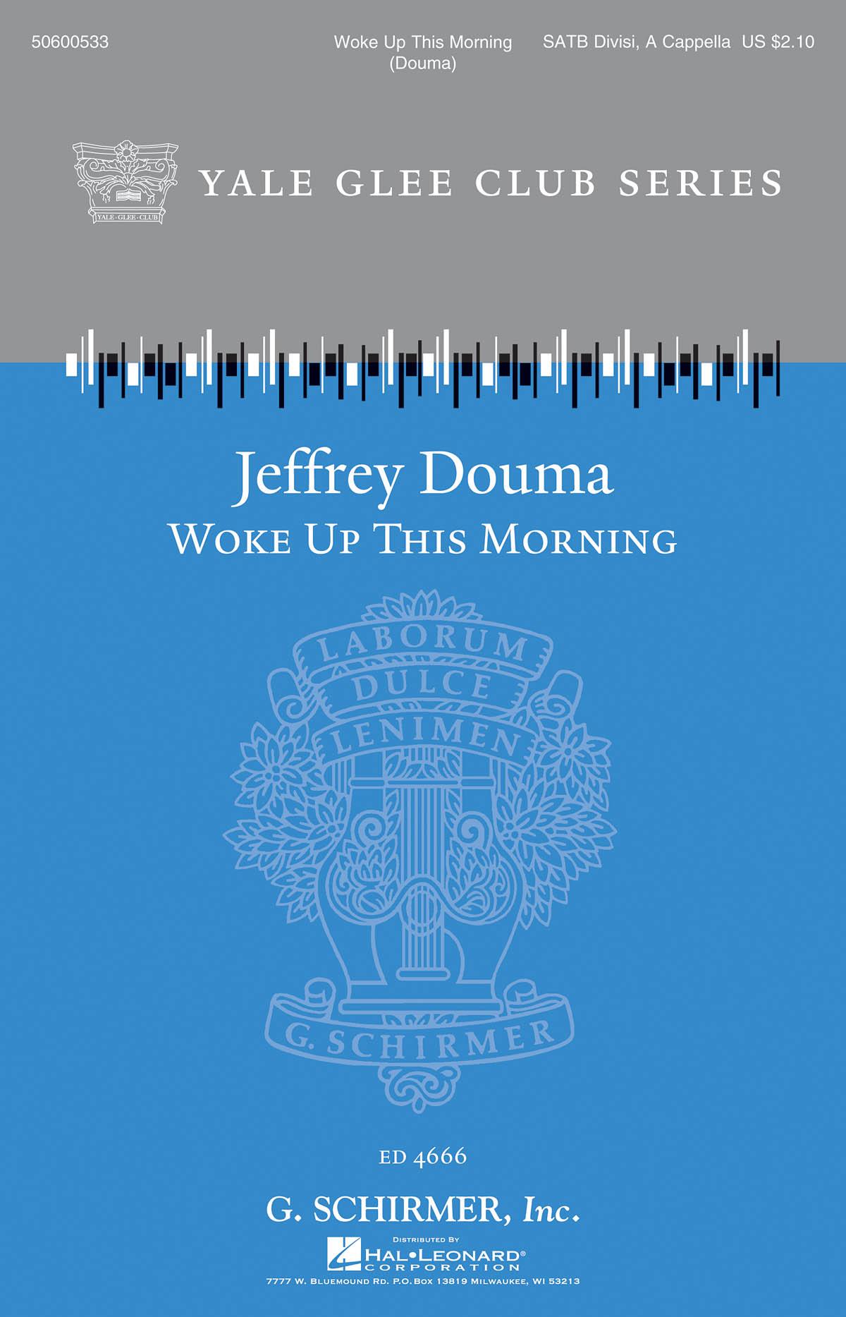 Jeffrey Douma: Woke Up This Morning: SATB: Vocal Score