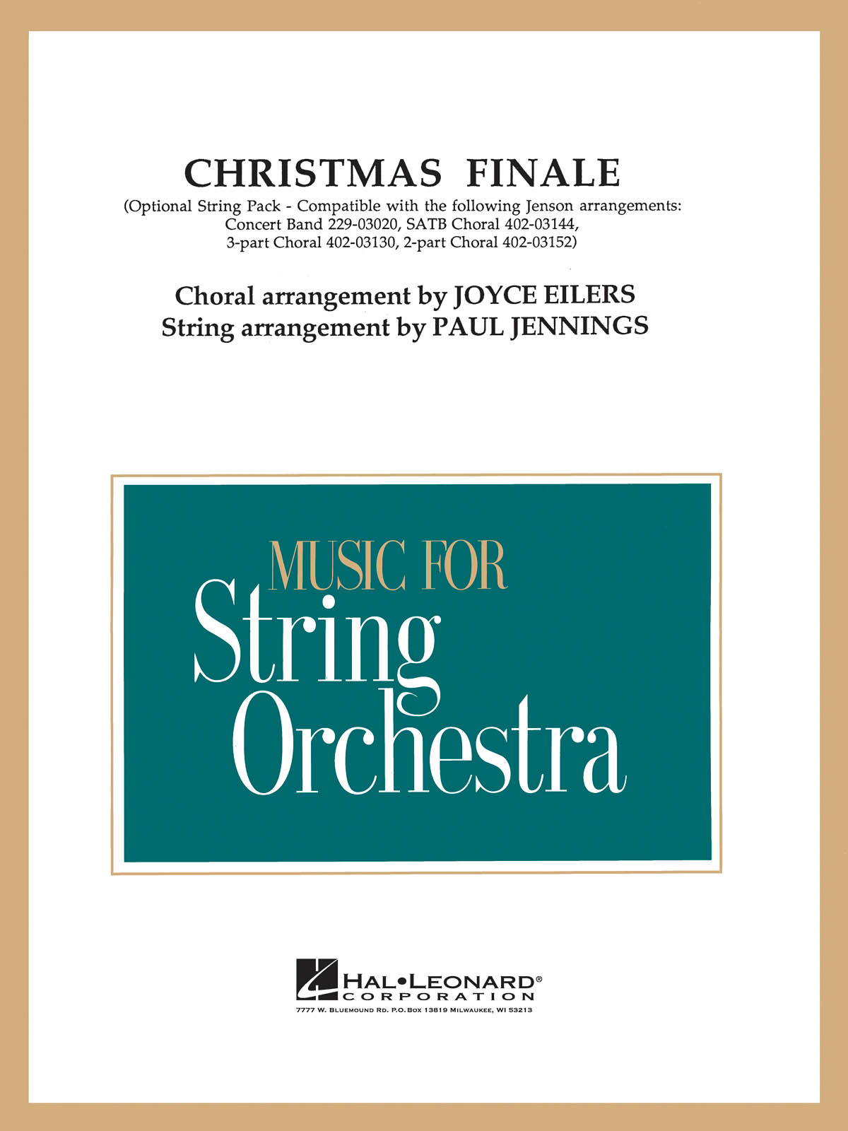 Christmas Finale: String Orchestra: Parts