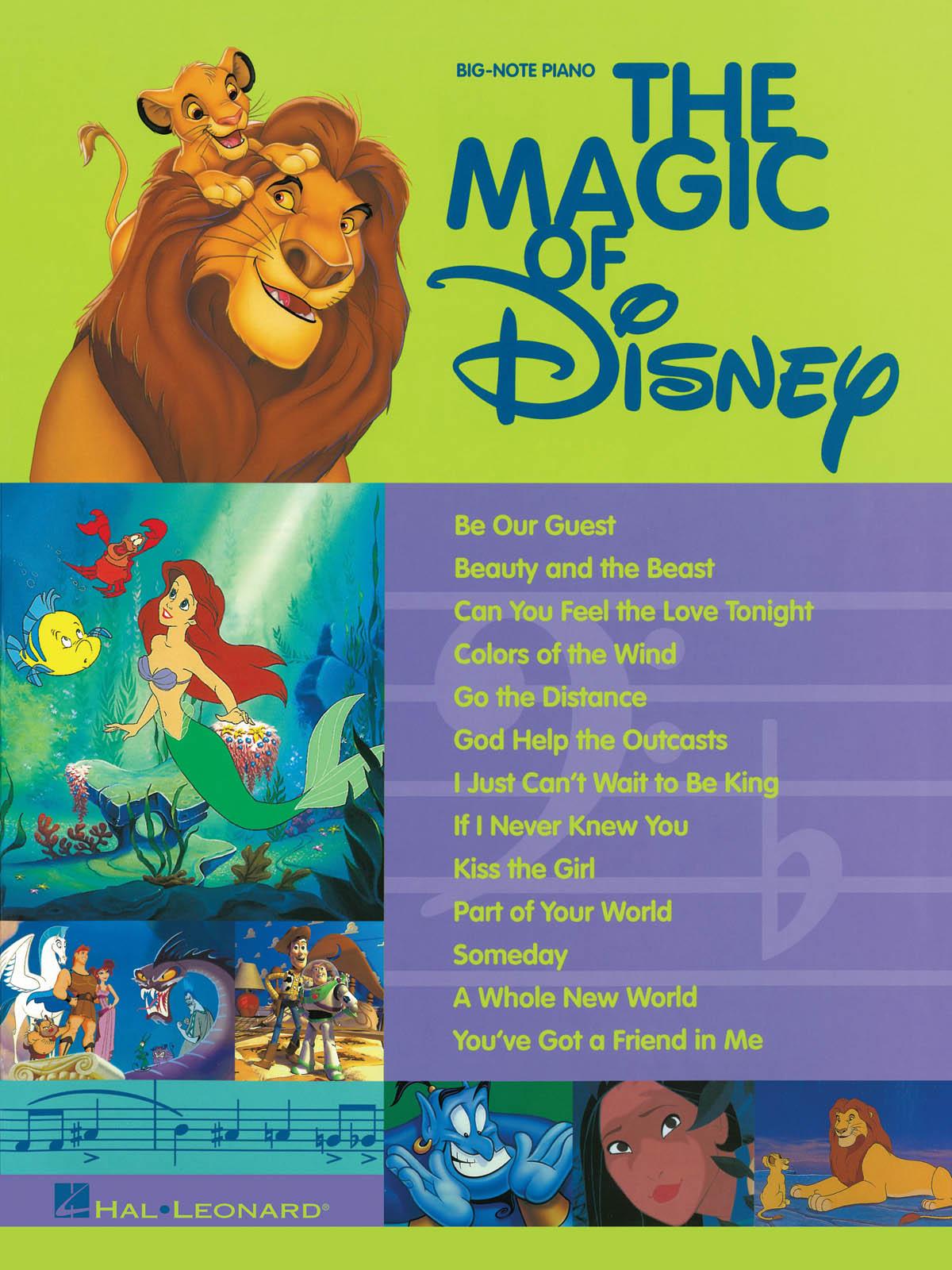 The Magic Of Disney: Piano: Vocal Album