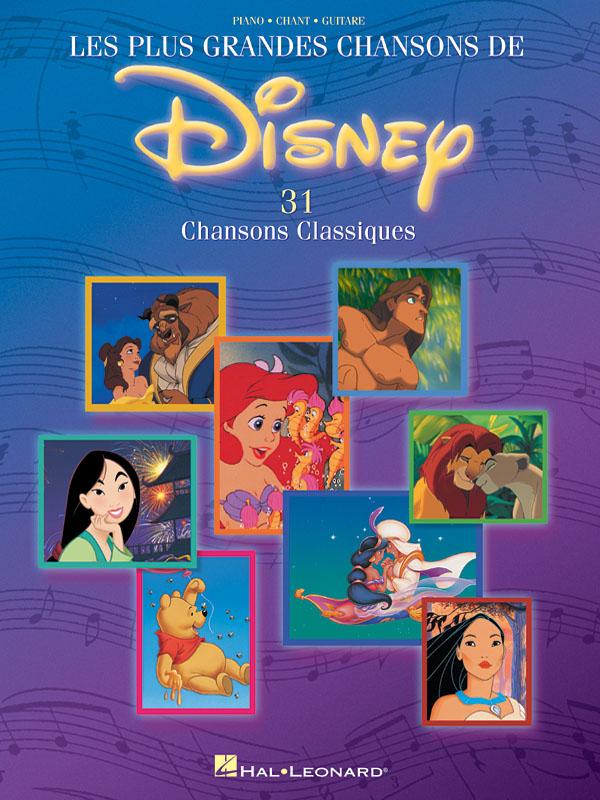 Les Plus Grandes Chansons de Disney: Piano  Vocal  Guitar: Mixed Songbook