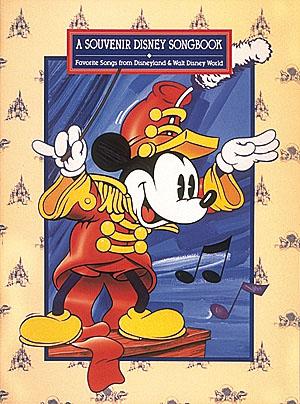 A Souvenir Disney Songbook: Piano  Vocal  Guitar: Mixed Songbook