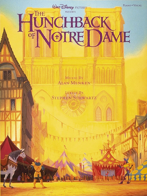 """Walt Disney Pictures Presents """"the Hunchback of Notre Dame"""": Includes Songbook (Piano/Vocal/guitar Artist Songbook)"""