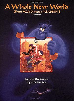 Alan Menken: A Whole New World: Piano: Single Sheet
