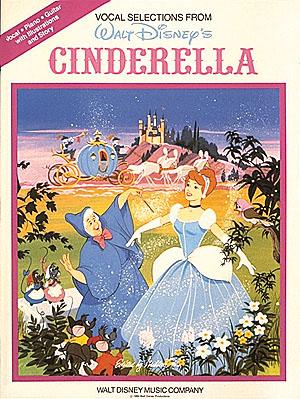 Al Hoffman Jerry Livingstone Mack David: Cinderella: Piano  Vocal  Guitar: Mixed