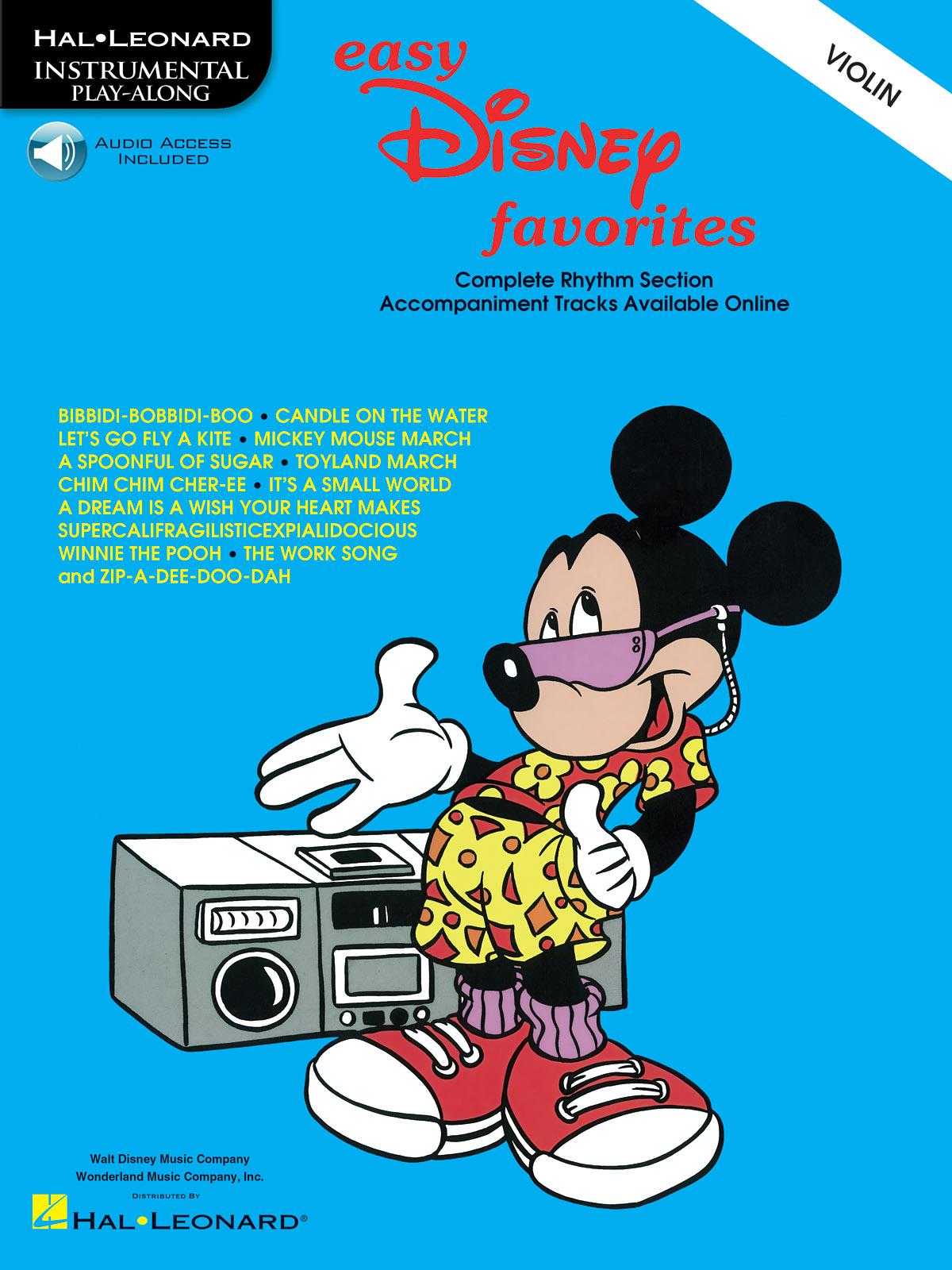 Easy Disney Favorites - Violin: Violin: Instrumental Album