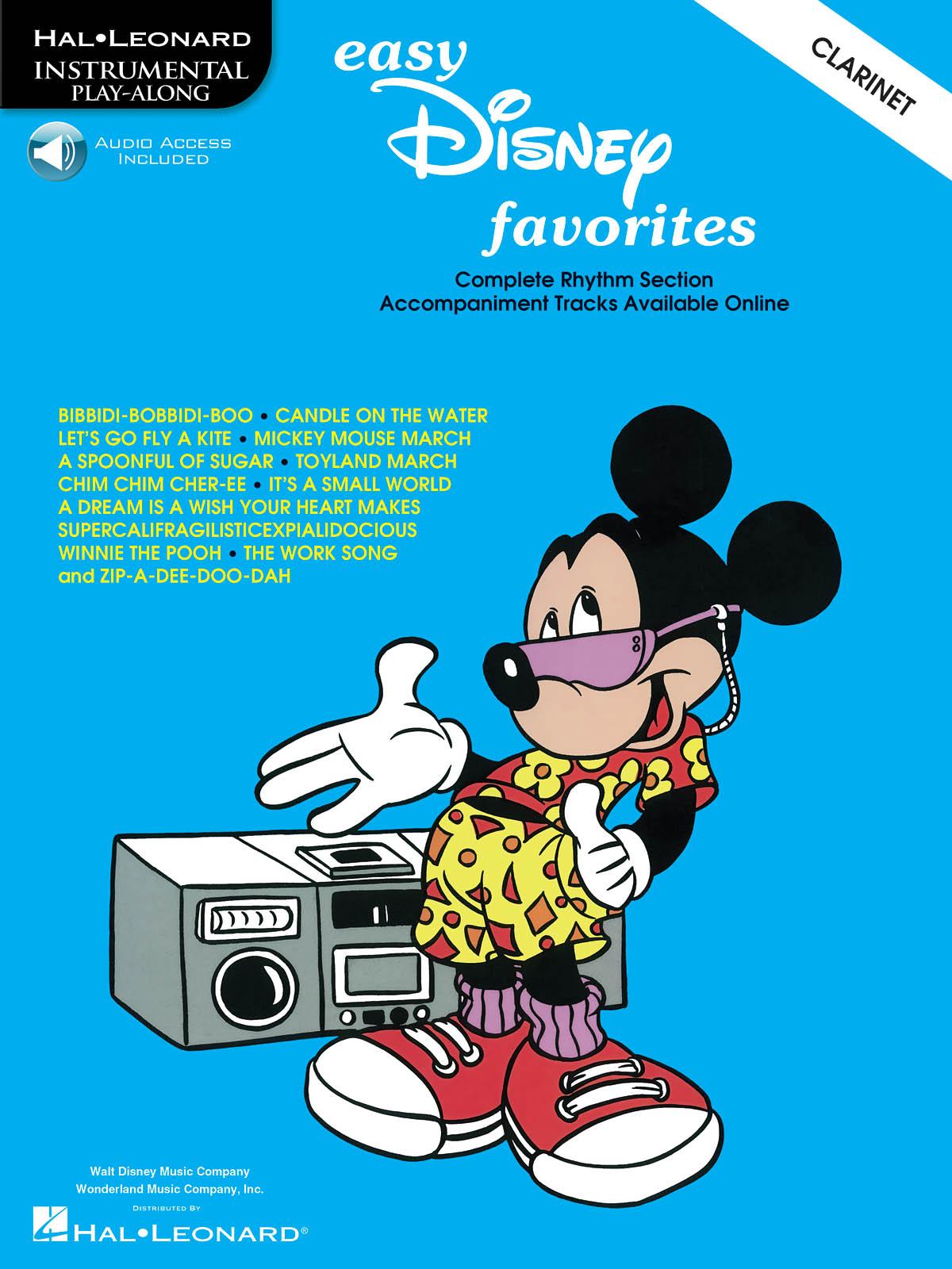 Easy Disney Favorites - Clarinet: Clarinet Solo: Instrumental Album
