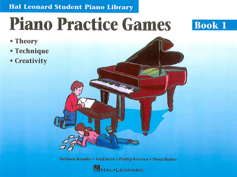 Barbara Kreader: Piano Practice Games Book 1: Piano: Instrumental Tutor