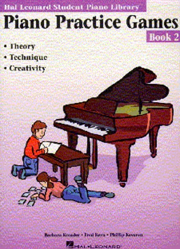 Barbara Kreader: Piano Practice Games Book 2: Piano: Instrumental Tutor