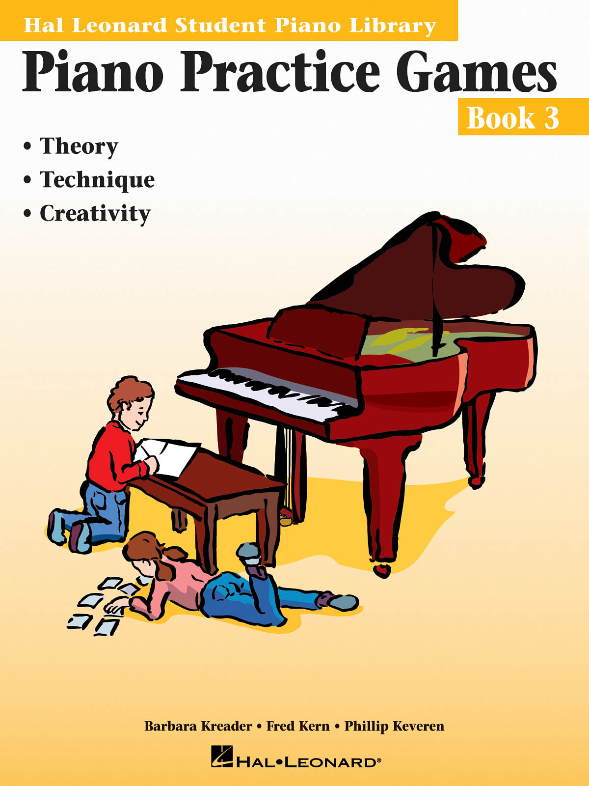 Barbara  Kreader: Piano Practice Games Book 3: Piano: Instrumental Tutor