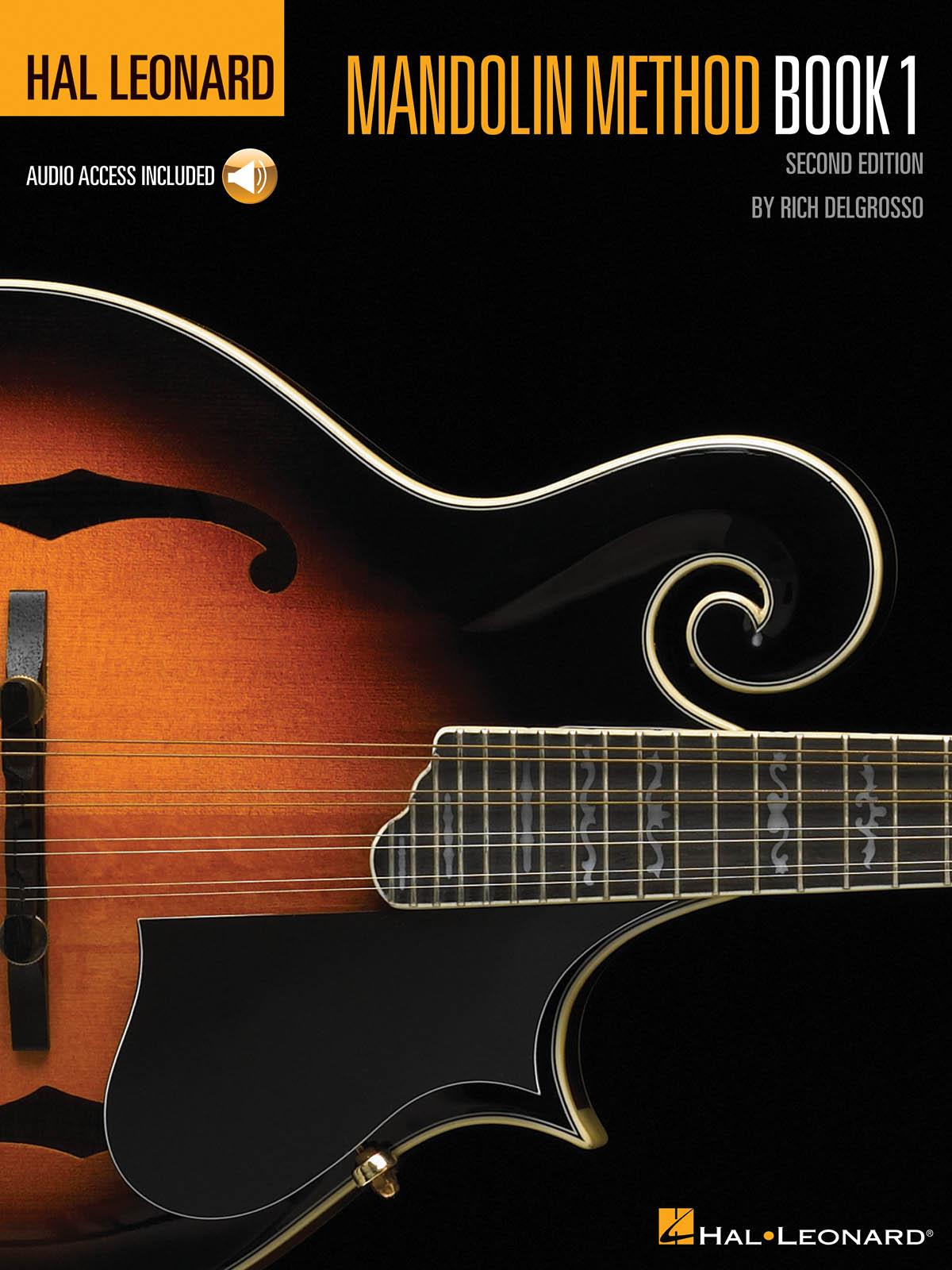 Rich DelGrosso: Hal Leonard Mandolin Method: Mandolin: Instrumental Tutor