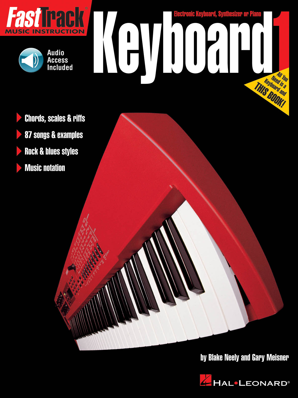FastTrack - Keyboard Method 1 (US): Electric Keyboard: Instrumental Tutor