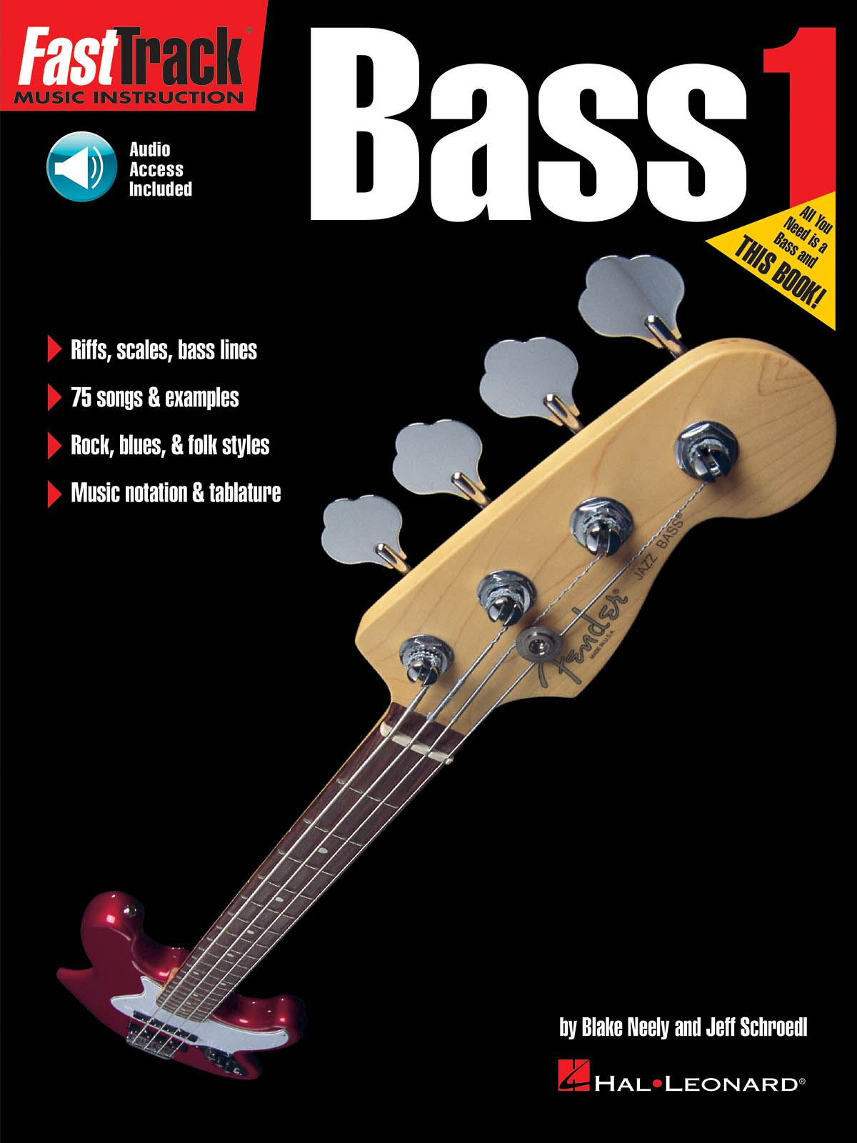 FastTrack - Bass Method 1: Bass Guitar Solo: Instrumental Tutor
