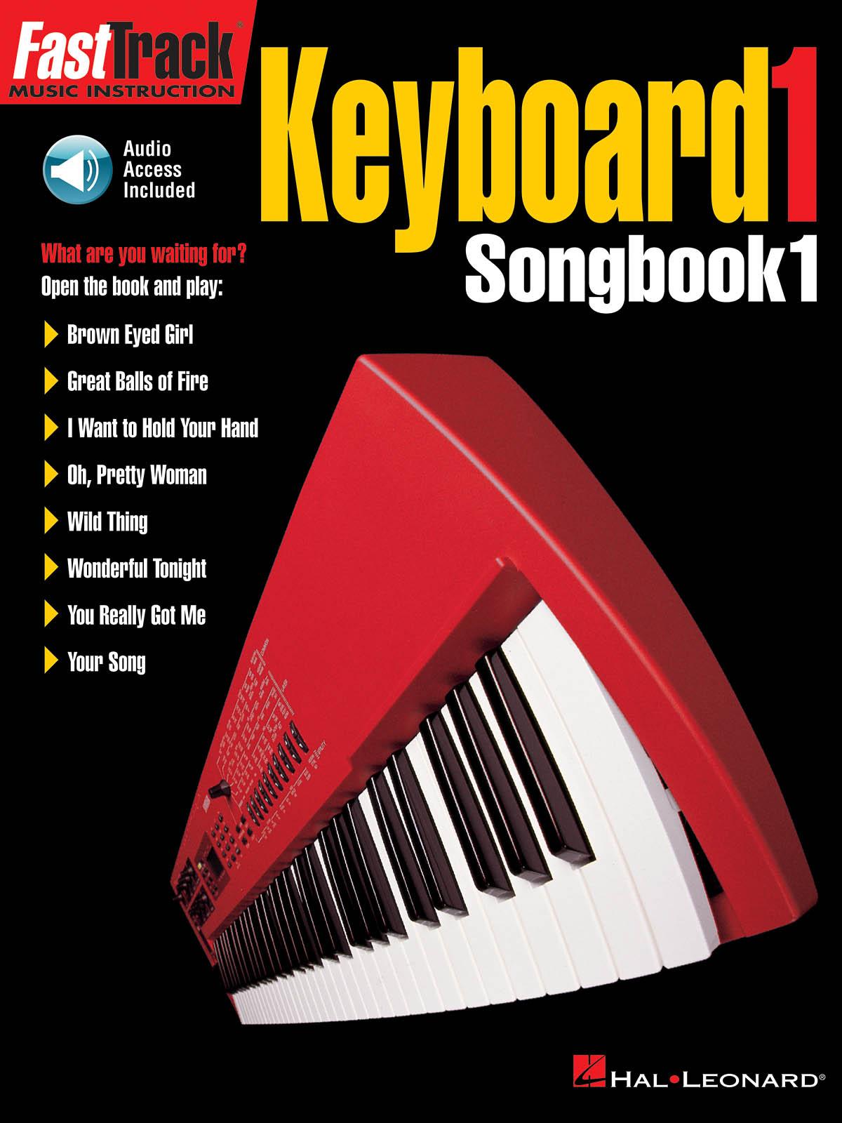 FastTrack - Keyboard 1 - Songbook 1: Electric Keyboard: Mixed Songbook