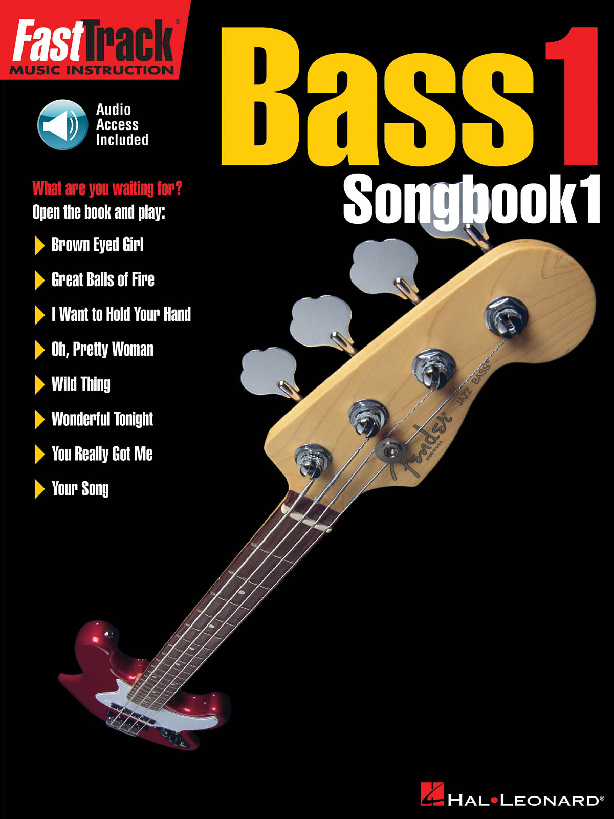 FastTrack - Bass 1 - Songbook 1: Bass Guitar Solo: Mixed Songbook