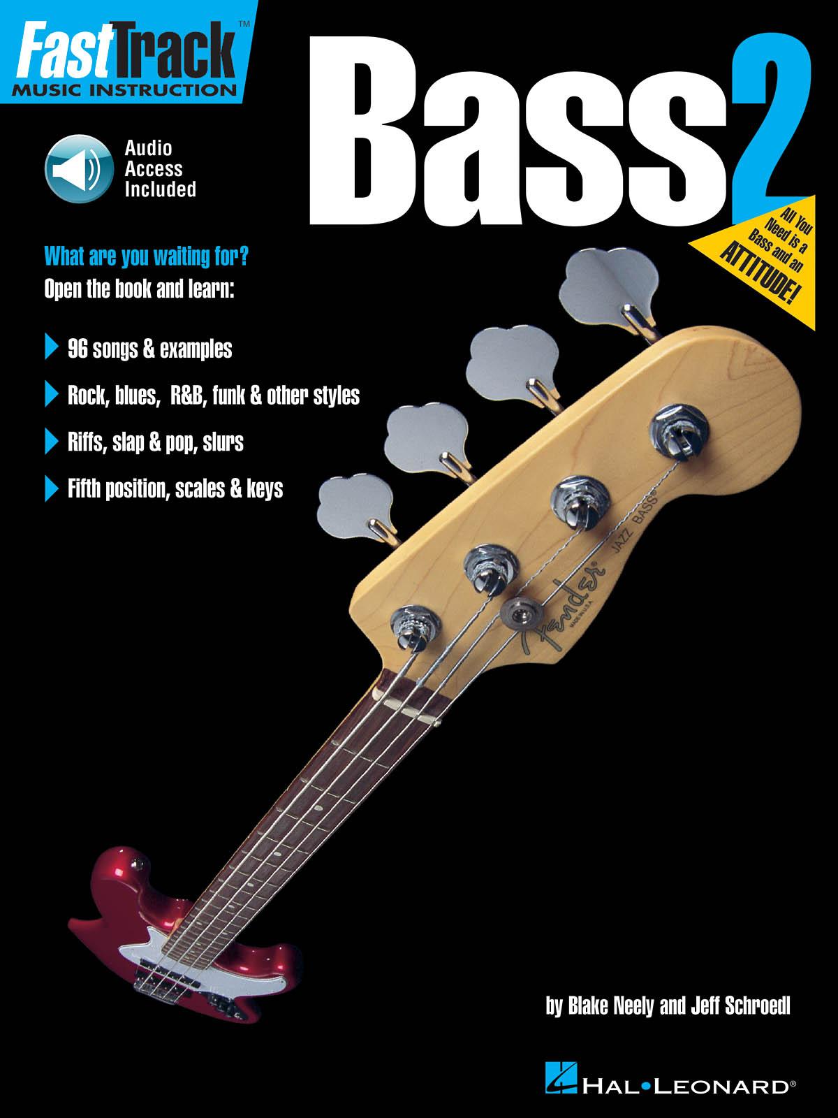 FastTrack - Bass Method 2: Bass Guitar Solo: Instrumental Tutor