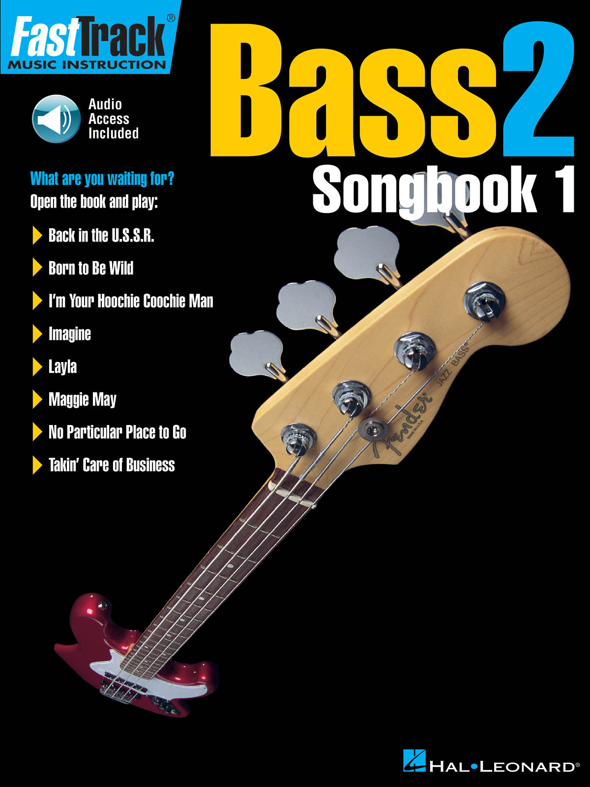 FastTrack - Bass 2 - Songbook 1: Bass Guitar Solo: Mixed Songbook