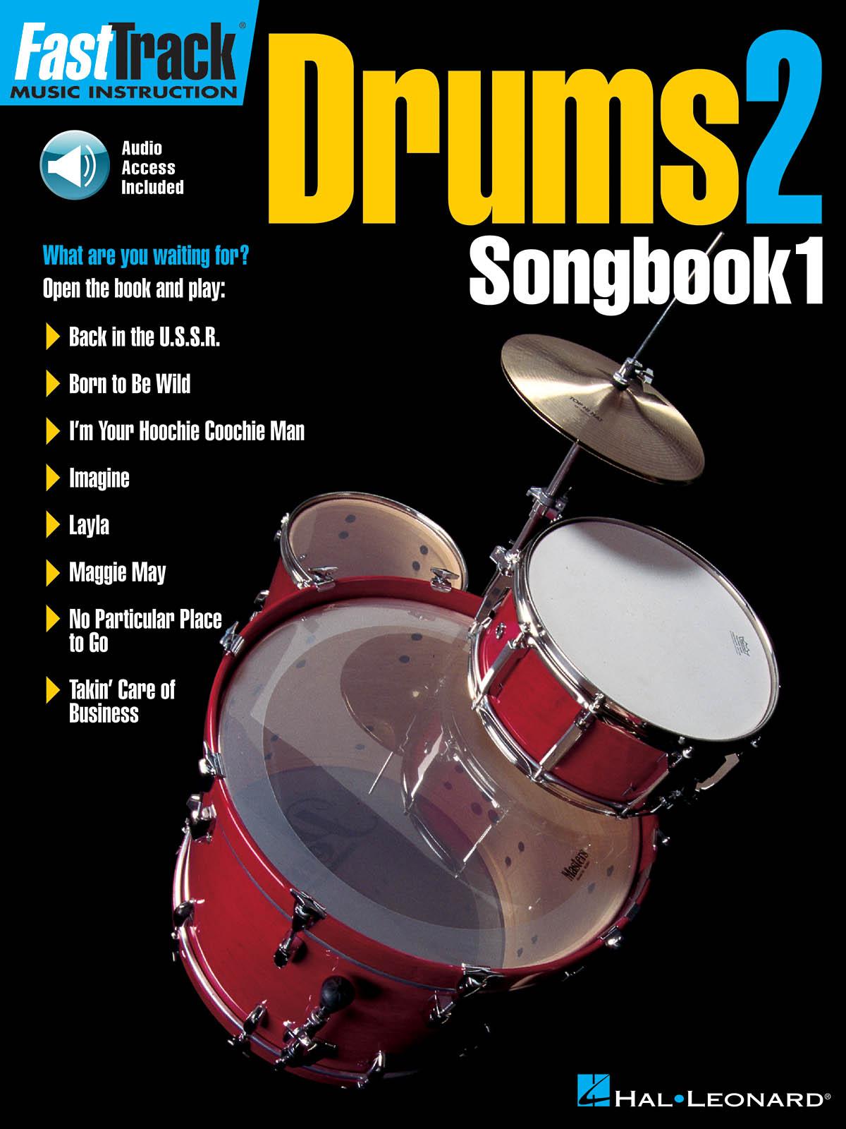 FastTrack - Drums 2 - Songbook 1: Drum Kit: Mixed Songbook