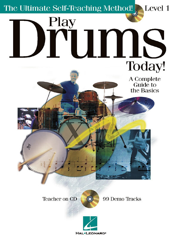 Play Drums Today! - Level 1: Drum Kit: Instrumental Tutor