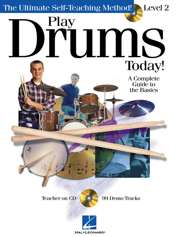 Play Drums Today! - Level 2: Drum Kit: Instrumental Tutor
