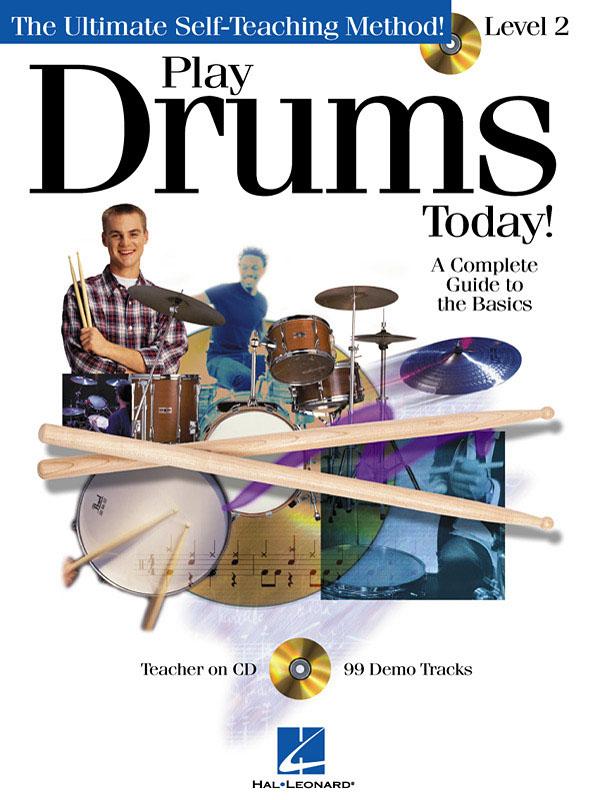Play Drums Today! - Level 2: Drum Kit: Instrumental Tutor