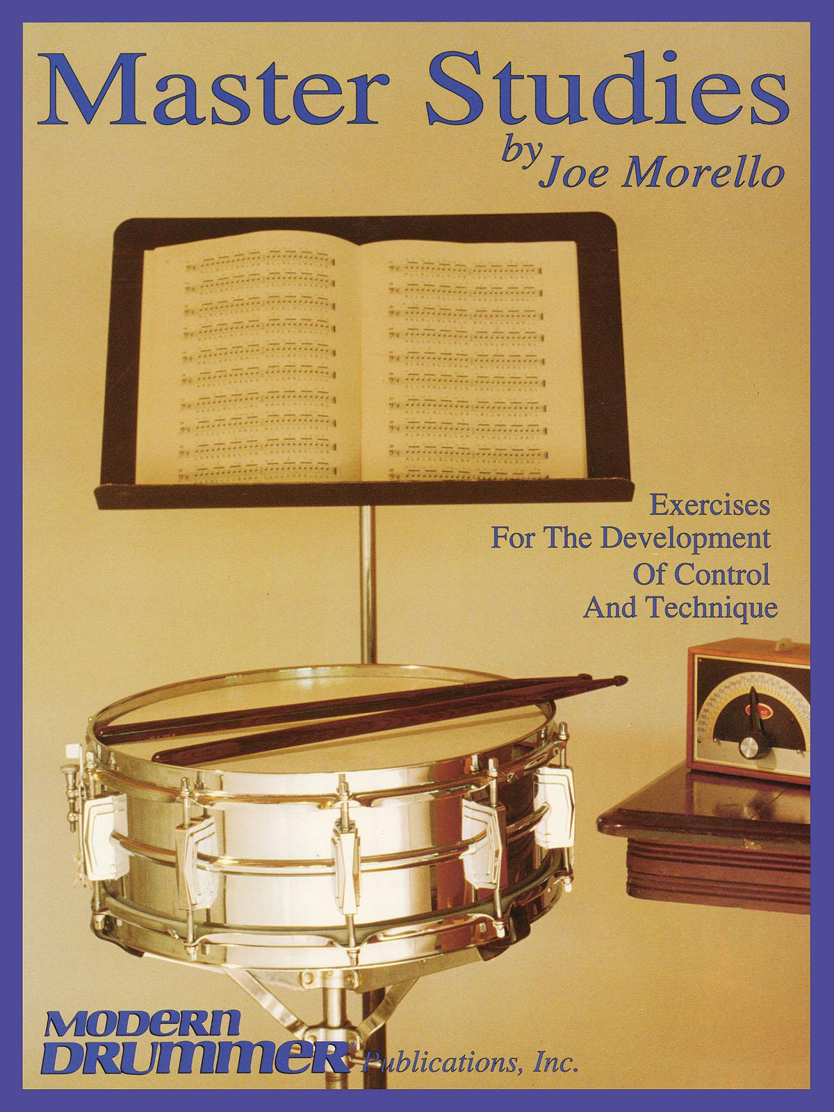 Joe Morello: Master Studies: Drum Kit: Study