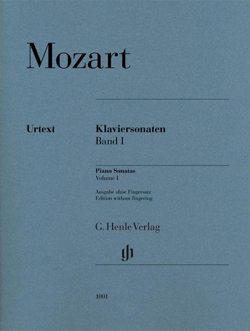 Wolfgang Amadeus Mozart: Piano Sonatas  Volume I: Piano: Instrumental Album