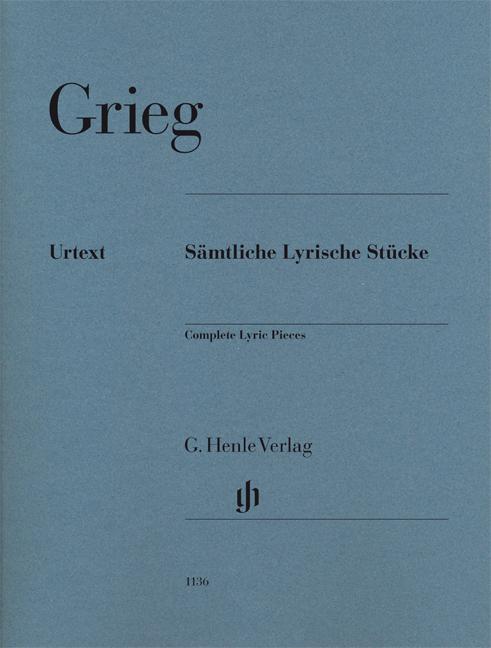 Edvard Grieg: Sämtliche Lyrische Stücke: Piano: Instrumental Work