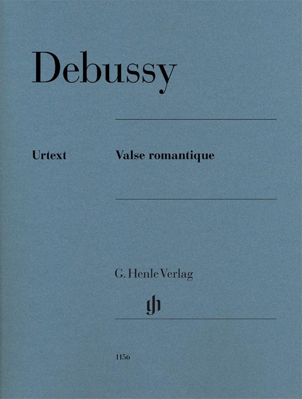 Claude Debussy: Valse Romantique: Piano: Instrumental Work