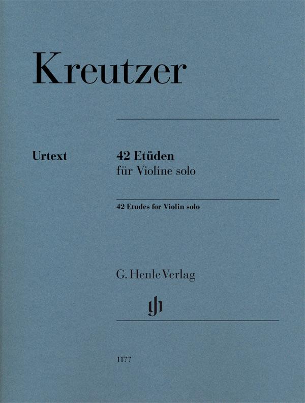 Rudolf Kreutzer: 42 Etudes for Violin: Violin: Instrumental Album