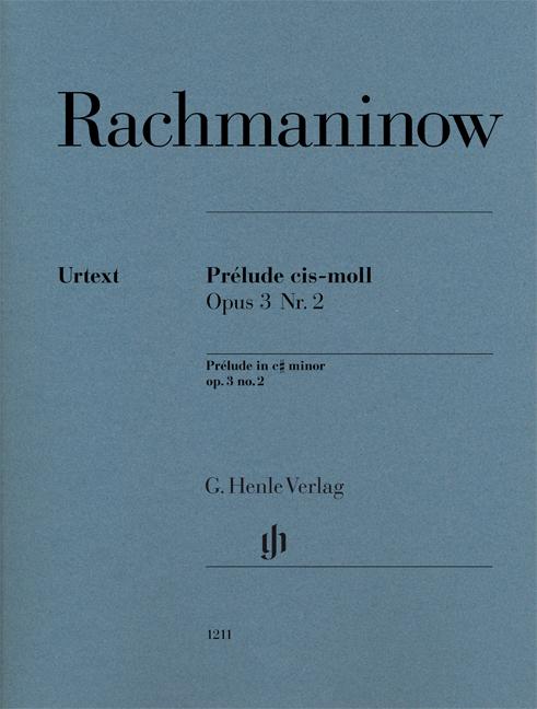 Sergei Rachmaninov: Prélude C Sharp Minor Op.3 No.2: Piano: Instrumental Work