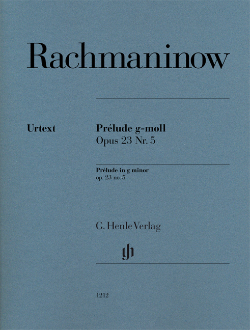 Sergei Rachmaninov: Prélude In G Minor Op. 23 No. 5: Piano: Instrumental Work