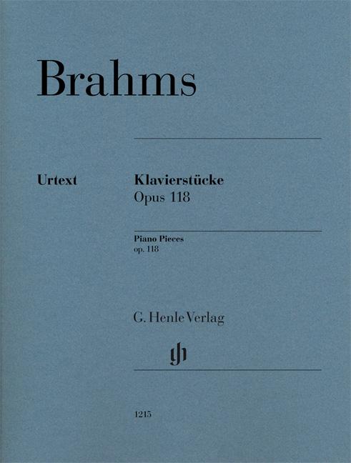 Johannes Brahms: Piano Pieces Op. 118  Nos. 1- 6: Piano: Score