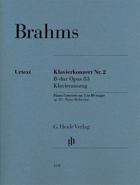 Johannes Brahms: Klavierkonzert Number 2 B Dur Op.83: Piano Duet: Instrumental