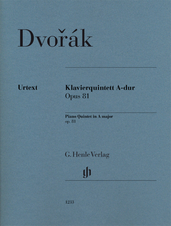 Antonín Dvo?ák: Klavierquintett A-dur Opus 81: Chamber Ensemble: Instrumental