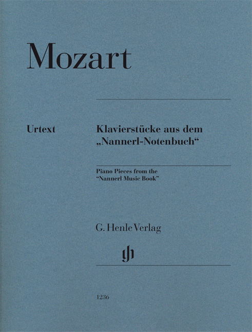 Wolfgang Amadeus Mozart: Piano Pieces From The 'Nannerl Music Book': Piano: