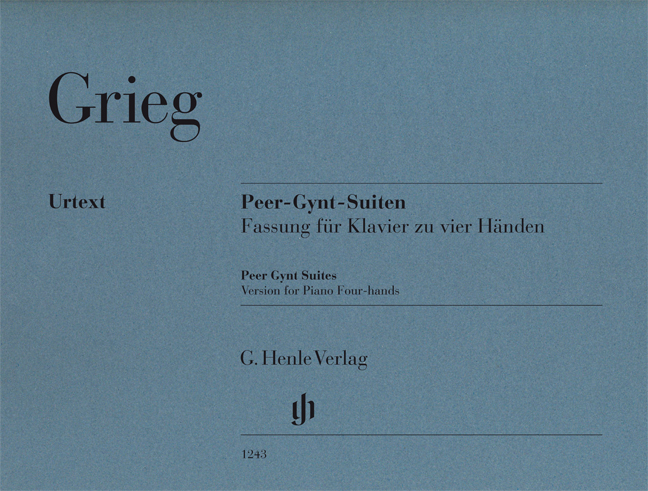 Edvard Grieg: Peer Gynt Suites - Version For Piano Four-Hands: Piano Duet: