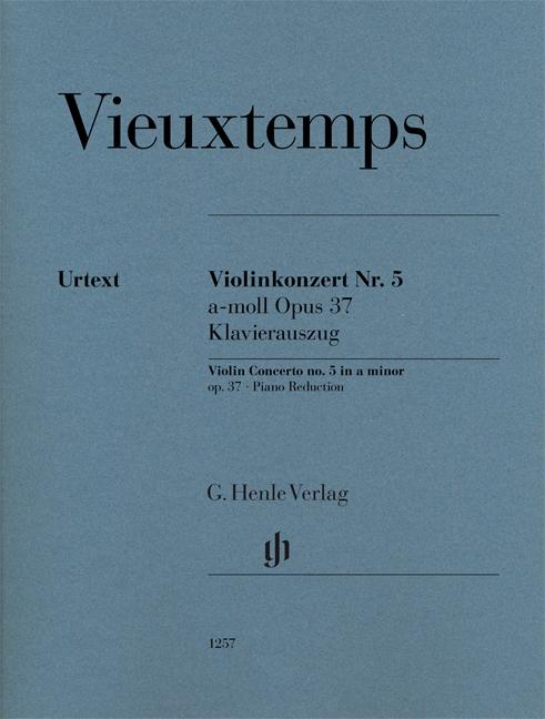 Henri Vieuxtemps: Violin Concerto no. 5 a minor op. 37: Violin: Instrumental