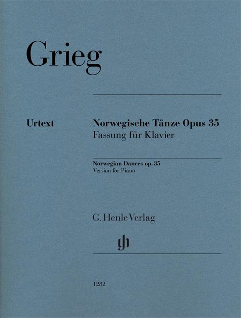 Edvard Grieg: Norwegian Dances op. 35: Piano