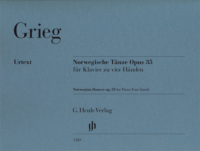 Edvard Grieg: Norwegian Dances op. 35: Piano Duet
