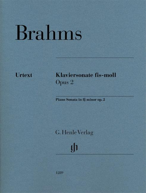 Johannes Brahms: Sonatas  Scherzo And Ballades: Piano: Instrumental Work