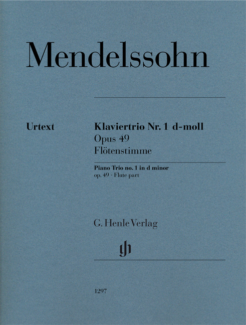 Felix Mendelssohn Bartholdy: Piano Trio Op. 49: Piano Trio: Part
