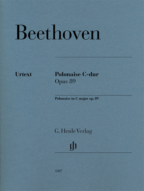 Ludwig van Beethoven: Polonaise In C Op. 89: Piano: Instrumental Work