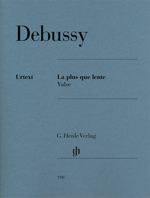 Claude Debussy: La plus que lente: Piano: Instrumental Work