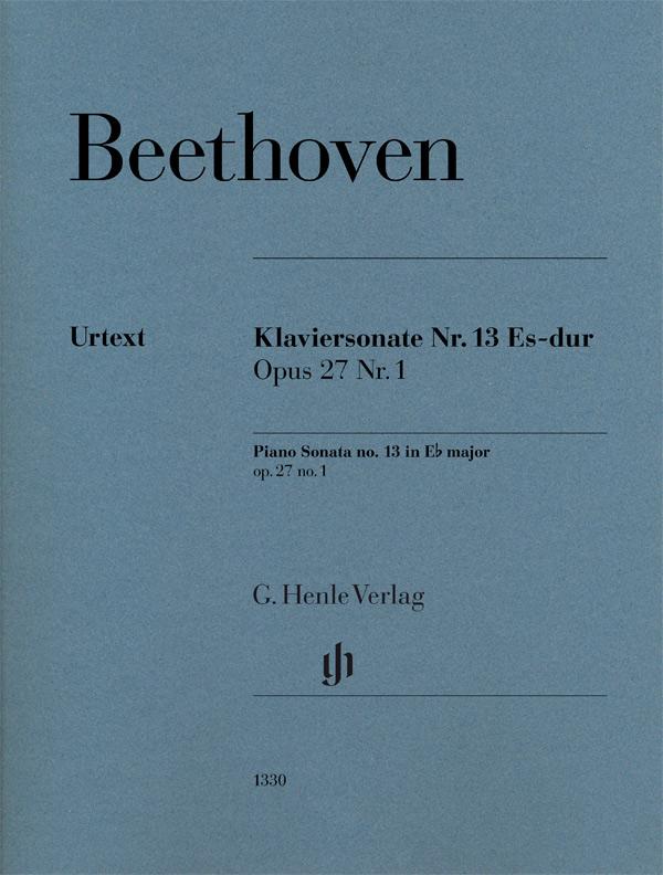 Ludwig van Beethoven: Piano Sonata no. 13 in Eb major op. 27 no. 1: Piano:
