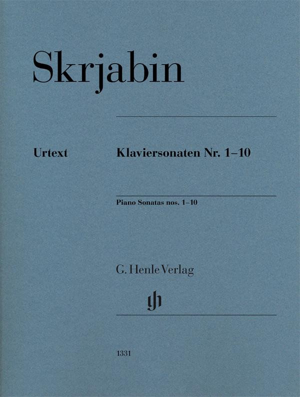 Alexander Scriabin: Piano Sonatas Nos. 1-10: Piano: Instrumental Work