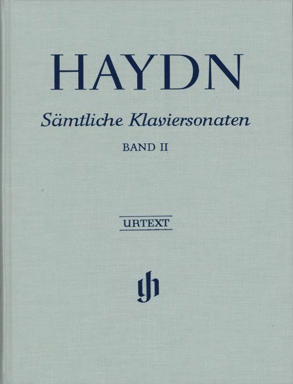 Joseph Haydn: Complete Piano Sonatas Volume II cb.: Piano: Instrumental Album
