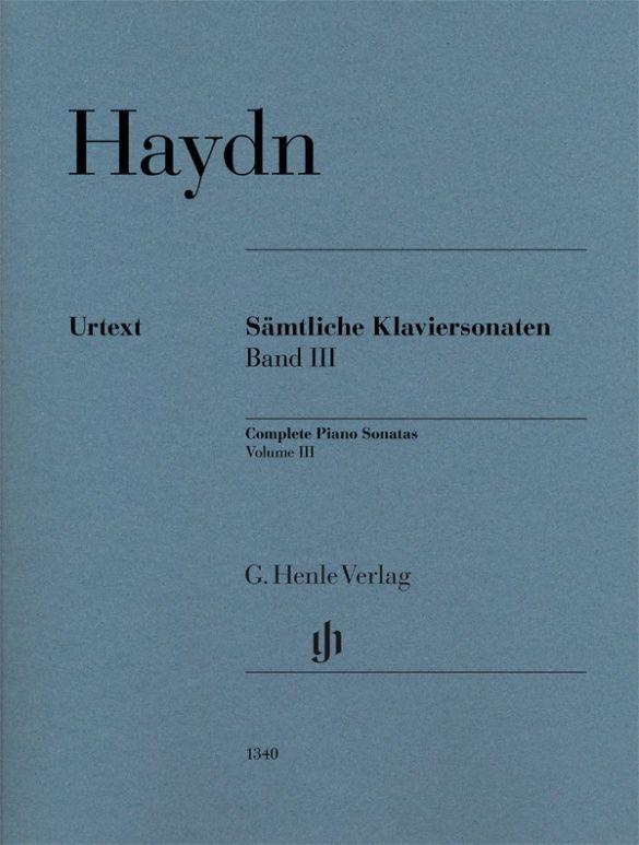 Joseph Haydn: Complete Piano Sonatas Volume III pb.: Piano: Instrumental Album