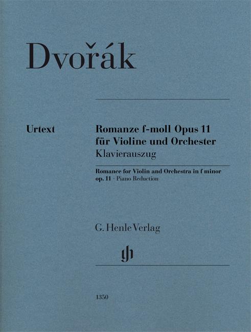 Antonín Dvo?ák: Romance In F Minor Op.11: Violin: Score and Parts