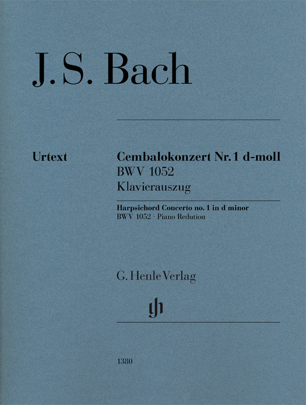 Johann Sebastian Bach: Harpsichord Concerto no. 1 in d minor BWV 1052: Piano